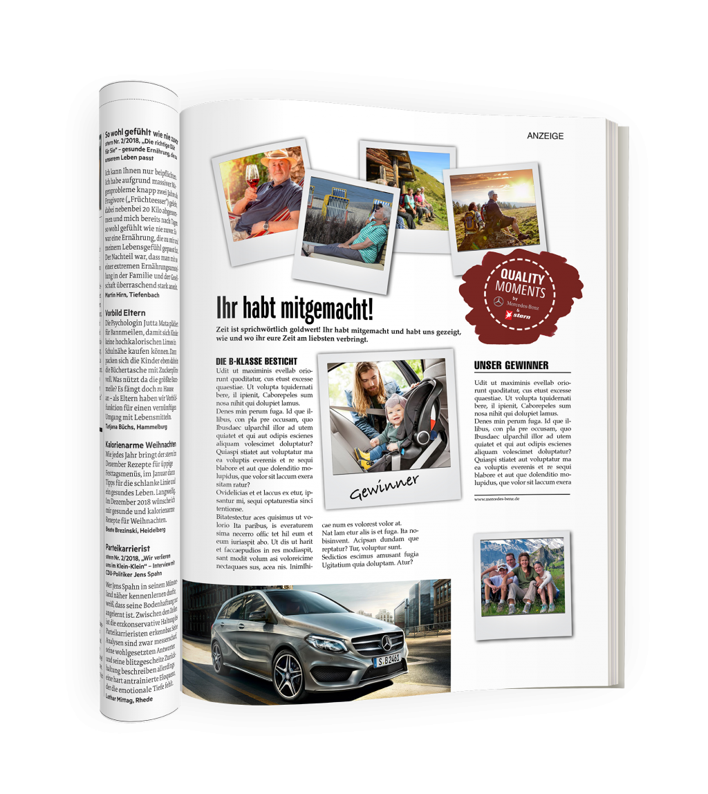 Advertorial Stern & Mercedes