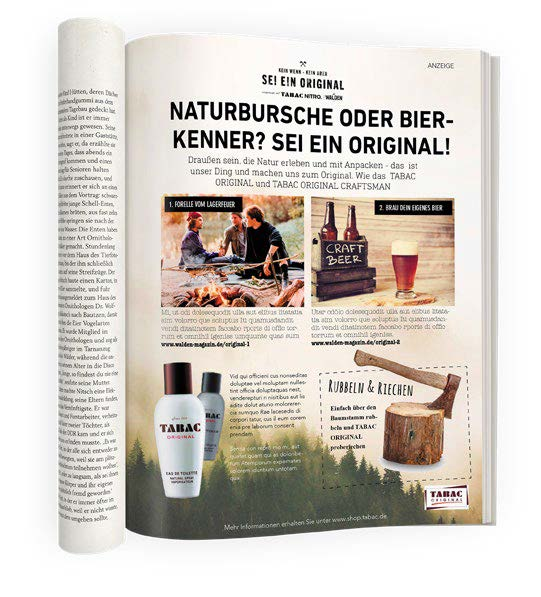 Advertorial Walden & Tabac