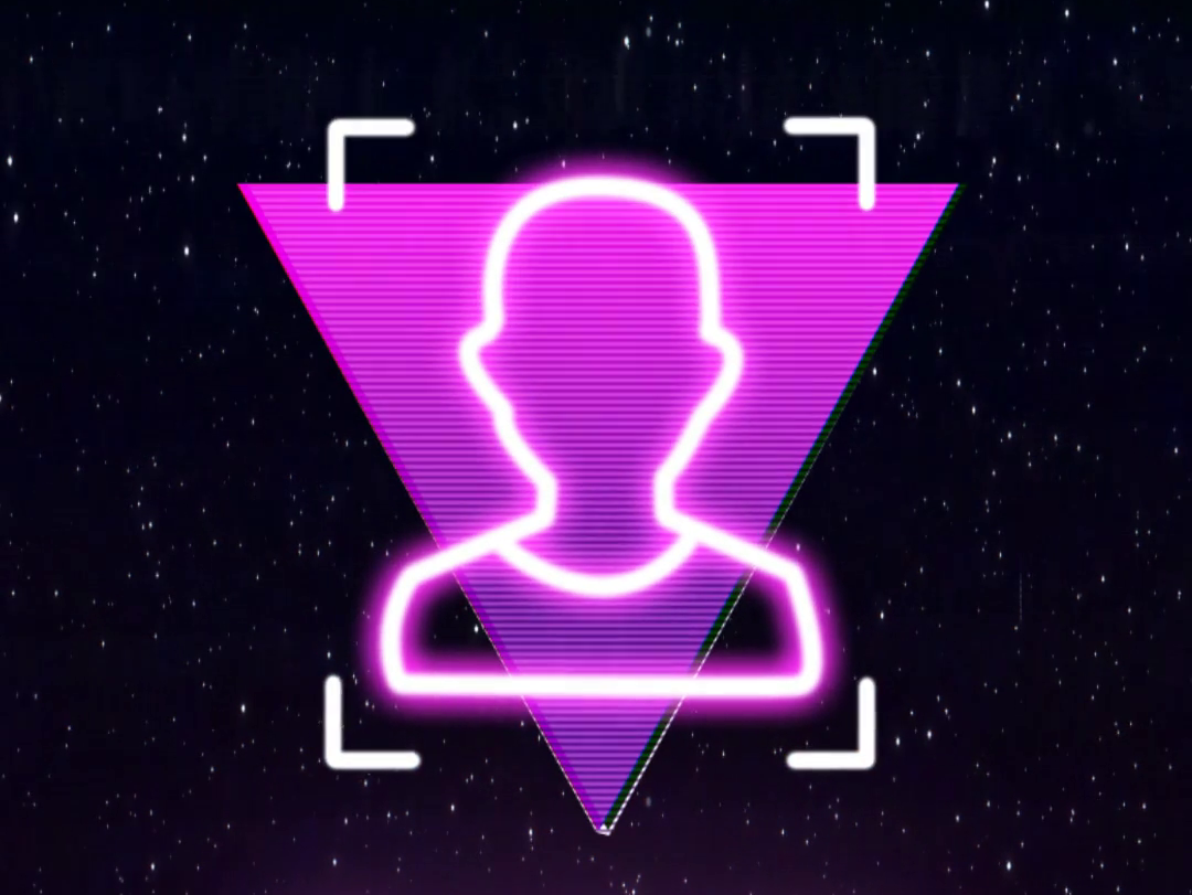 Retrowave Instagram Story