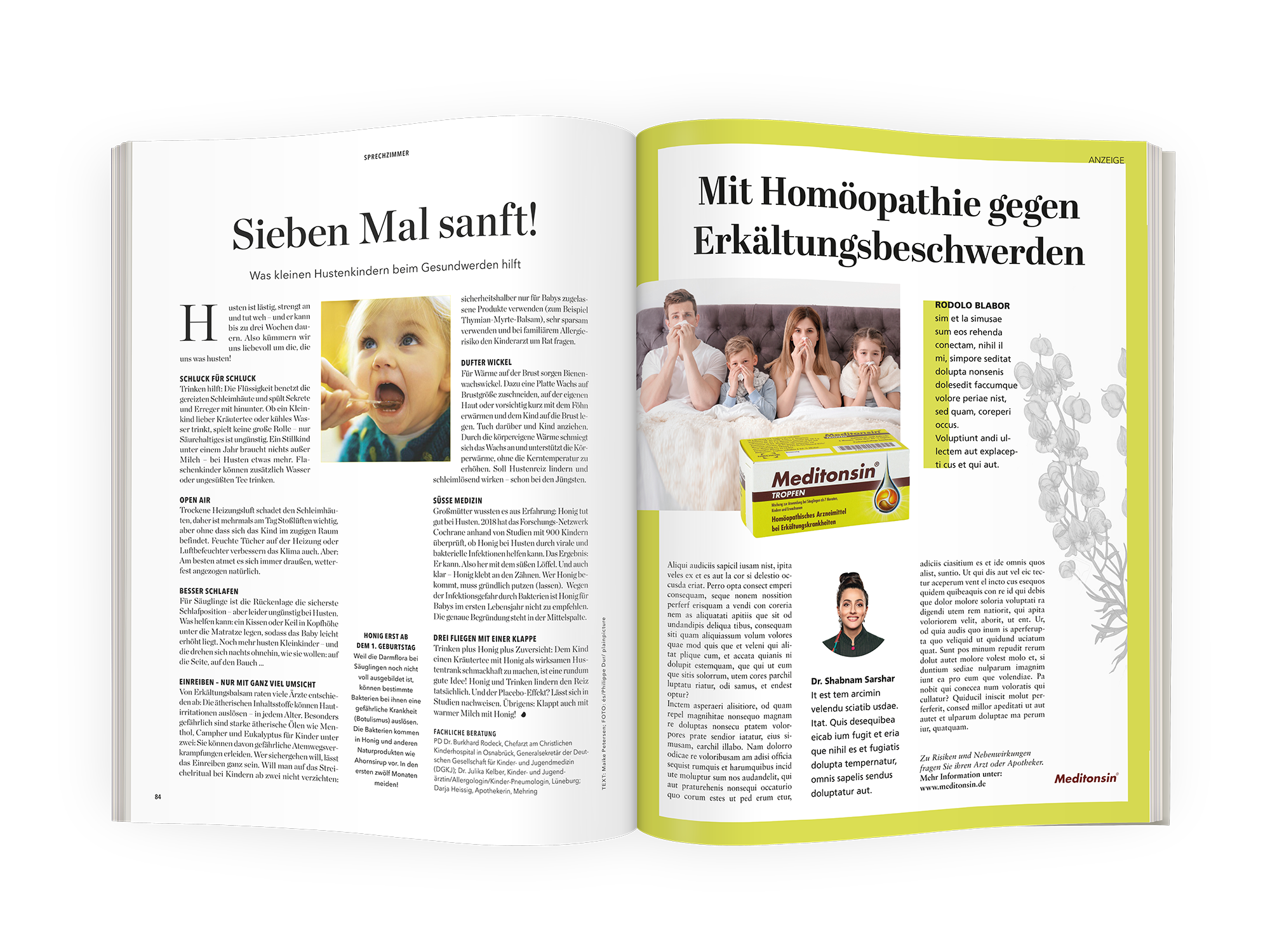 Advertorial Eltern & Meditonsin