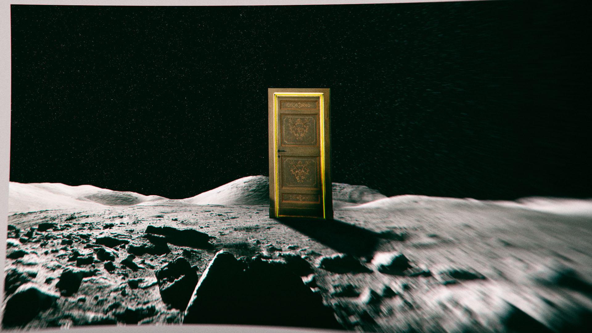 Mond Tür